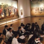 Nuestros jóvenes en el Museo Blanes