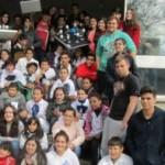 Alumnos de 1º Bachillerato dictan una clase en la escuela Nº 197