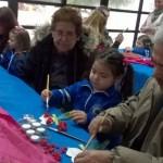 Compartimos actividades con los abuelos de niños de 2 años