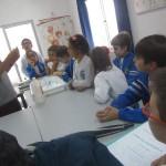 Clase de alumnos de Bachillerato a Escolares
